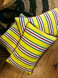 Kussen Yellow Stripe_