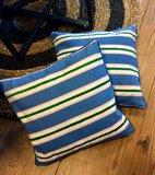 Kussen Blue Stripe_