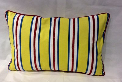 Kussen Yellow Stripe