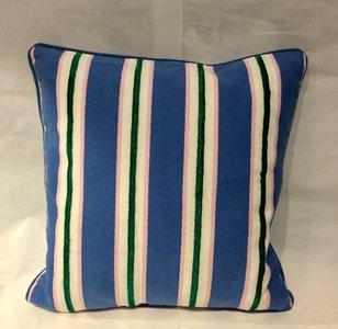 Kussen Blue Stripe
